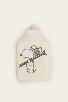 Womensecret Snoopy hot water bottle beige