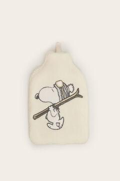 Womensecret Snoopy-mintás forróvizes-palack bézs
