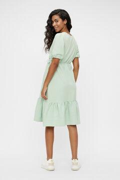 Womensecret Maternity nursing dress green