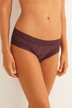 Womensecret Lace Brazilian panty  pink