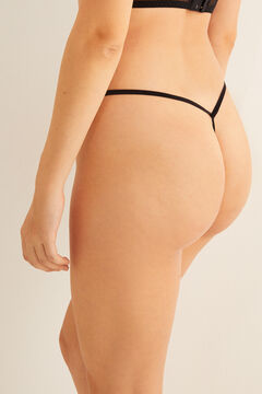 Womensecret Lace g-string black