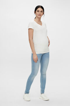 Womensecret Fitted maternity jeans bleu
