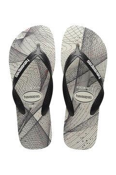 Womensecret MAN AERO GRAPHIC flip-flops  grey