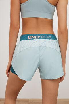 Womensecret Short entrenamiento  azul