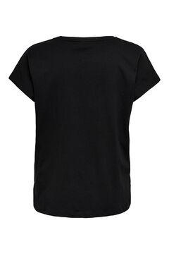 Womensecret Short-sleeved sports T-shirt black