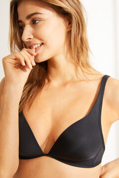 Womensecret Multiway triangle bra black