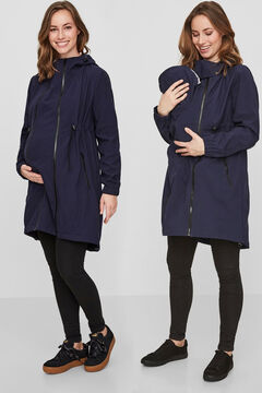 Womensecret 3-in-1 recycled polyester maternity parka blue