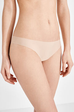 Womensecret 2 microfiber brazilian panties pack nude