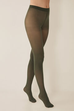 Womensecret Basic tights 50 denier green