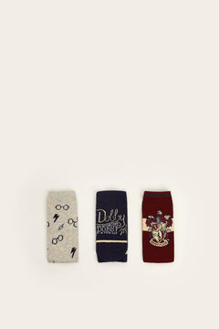 Womensecret Pack of 3 Harry Potter socks printed