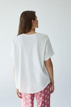 Womensecret T-shirt manches courtes beige beige