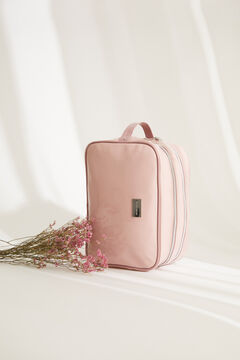 Womensecret Large square pink vanity case pink