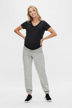 Womensecret Pantalón comfy maternity gris