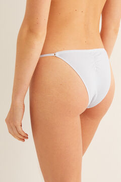 Womensecret Striped Brazilian panty grey
