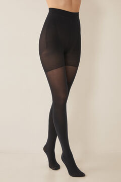 Womensecret Shaping tights 90 DEN black