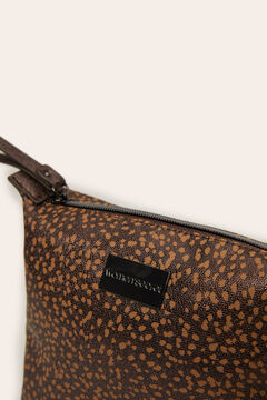 Womensecret Feminine animal print vanity case nude