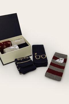 Womensecret 6-pack of long Harry Potter socks imprimé