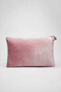 Womensecret Velourskissen Rosa Strass pink