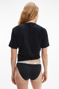 Womensecret Braguitas cinturilla elástica Calvin Klein negro