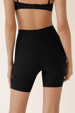 Womensecret Thermoregulatory shorts with shaping effect black