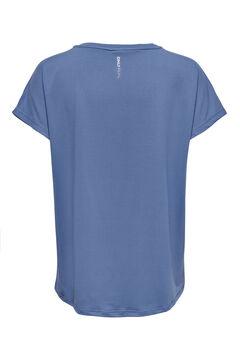 Womensecret T-shirt treino manga curta azul