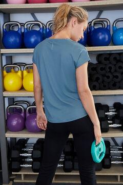 Womensecret Camiseta entrenamiento azul