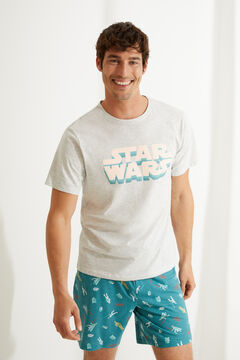 Womensecret Star Wars short pyjamas with short sleeves grey