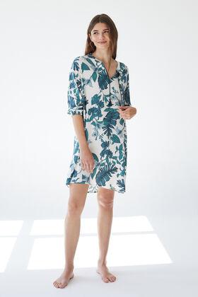 Womensecret Short camisole buttons green