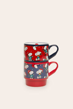 Womensecret 2-pack ceramic Snoopy cups white