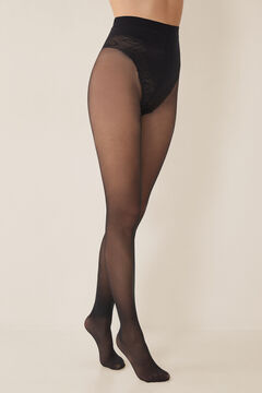 Womensecret Support tights 40 DEN black