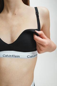 Womensecret Calvin Klein cotton maternity top with waistband black