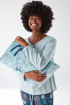 Womensecret Coordonné green cushion blue