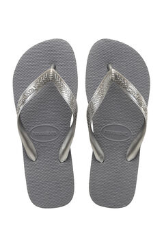 Womensecret Chanclas TOP TIRAS gris
