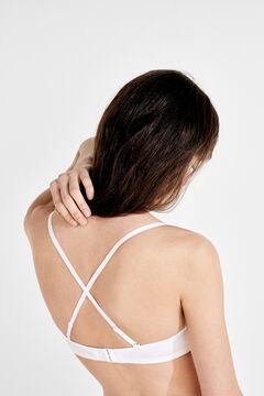 Womensecret Strapless push up bra white