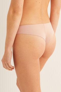 Womensecret Modal Brazilian panty pink