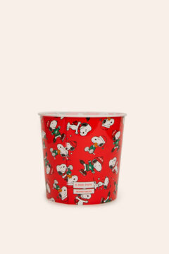 Womensecret Popcornschale Snoopy Rot