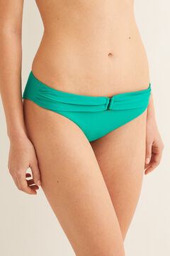 Womensecret Belted bikini bottoms  green