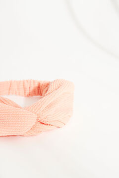 Womensecret  Orange twist-front headband red