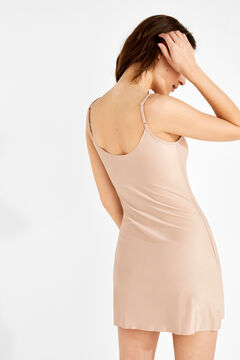 Womensecret Short slip dress természetes