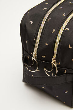 Womensecret Large black vanity case with moon design black