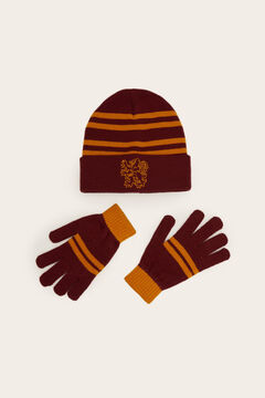 Womensecret Set de bonnet et gants Harry Potter imprimé