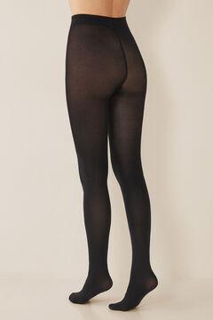 Womensecret Panty 200 DEN termal negro