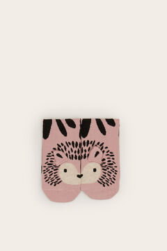 Womensecret Long hedgehog socks  pink
