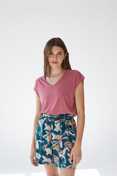 Womensecret Tropical shorts green