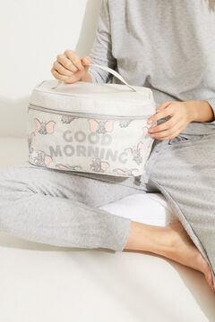 Womensecret Large grey Dumbo briefcase vanity case printed