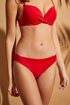 Womensecret Culotte bikini classique rouge rouge