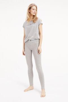 Womensecret Leggings de algodão cinzento