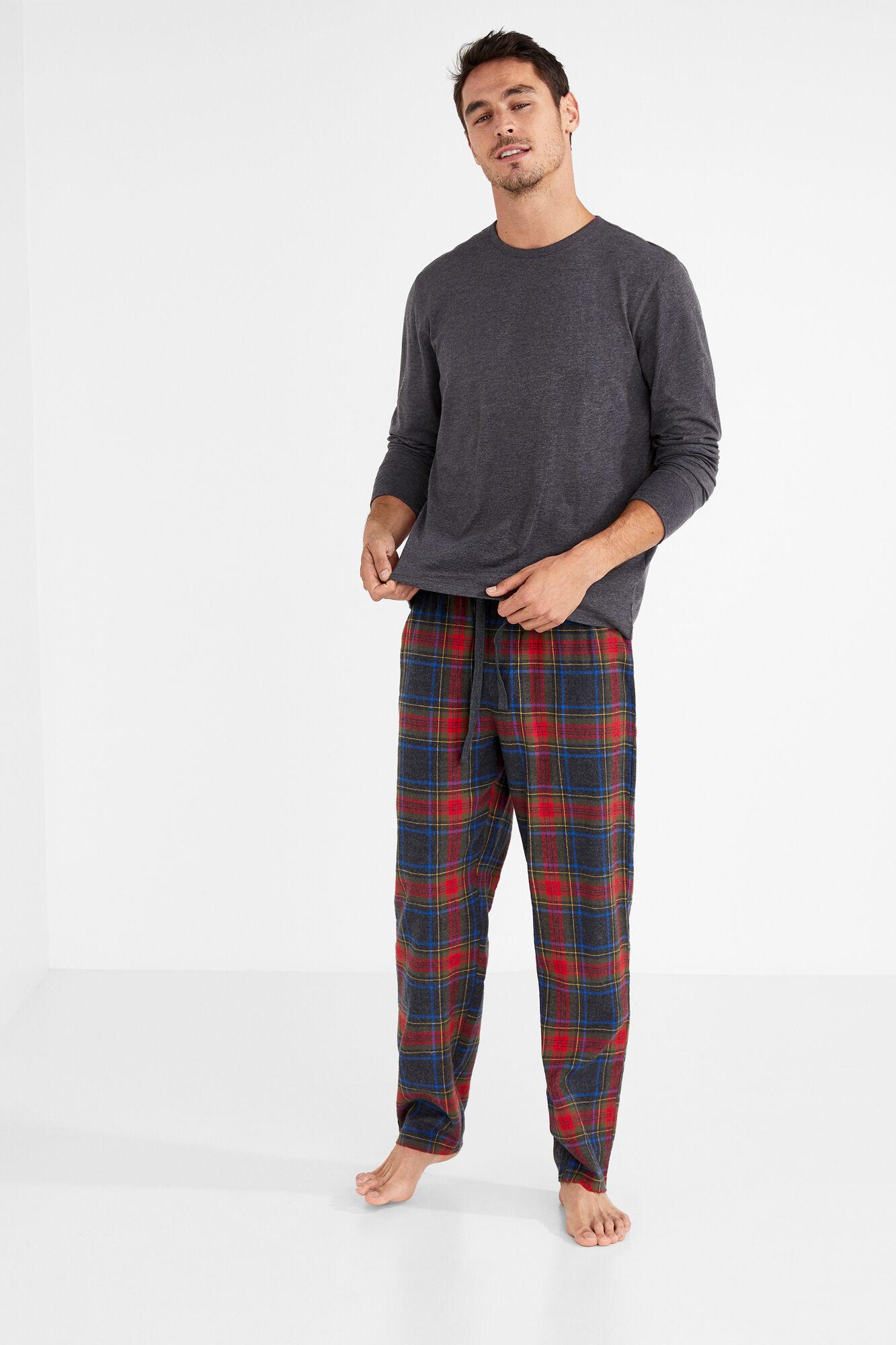 7cbc890944 Pijama largo algodón para hombre