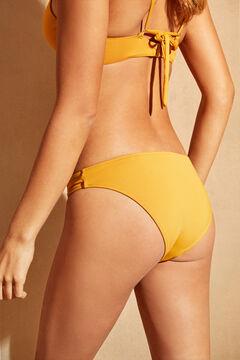 Womensecret Yellow knot detail bikini bottoms yellow