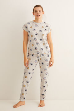 Womensecret Short-sleeved Cookie Monster pyjamas green